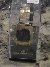 Vintage Texas Instruments TI 403-2 Red LED Watch in Original Case New Batteries