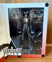 Catwoman Batman Arkham City Action Figure w/ Box Play Arts Kai 2013 DC Direct