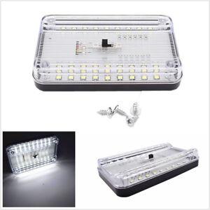 36 LED DC 12V Car Auto Vehicle Dome Roof Ceiling Interior Light Lamp White Light