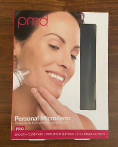 PMD Personal Microderm Pro Anti-Aging Microdermabrasion Skincare Tool NEW- Black