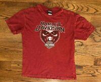 Barnett Harley-Davidson Motorcycles El Paso TX Red 2015 T-Shirt Men's 2XL