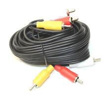 3-Rca Composite A/V Cable for Sony Dvpsr210P Dvd Player to Home Office Led Tv