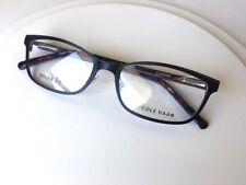NEW CH 1016 PETITE FIT 50mm Eye Size Dark Black COLE HAAN Eyeglasses Metal Frame