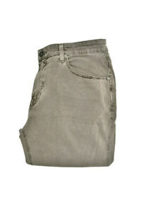 Paige Mens Comfortable Straight Jeans Grey 32W