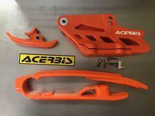Acerbis Kit Curseur Guide de chaine Orange KTM SX 125-144 16-17