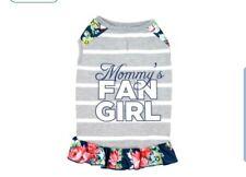 Vibrant life XXS TANK DRESS Mommy's Fan Girl