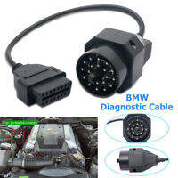 20 PIN To 16 PIN OBD 2 Car vehicle Cable Round Adapter Diagnostic Connector BMW