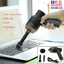 USB Powered Portable Keyboard Vacuum Cleaner For Car Desktop Office Home Table