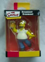 "The Simpsons HOMER SIMPSON W/ BEER 3"" CHRISTMAS TREE ORNAMENT NEW"