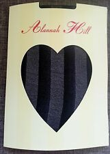 ALANNAH HILL TIGHTS HOSIERY STRIPED NET DESIGNER PANTYHOSE FAST FREE POST