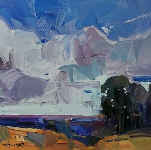 JOSE TRUJILLO Oil Painting IMPRESSIONISM Contemporary Landscape ORIGINAL NR