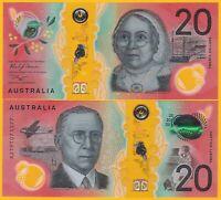 Australia 20 Dollars p-new 2019 UNC Polymer Banknote