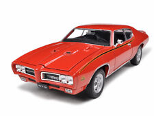 1969 PONTIAC GTO JUDGE ORANGE 1/24 DIECAST CAR MODEL BY WELLY 22501