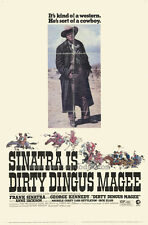 DIRTY DINGUS MAGEE Movie POSTER 27x40 Frank Sinatra George Kennedy Anne Jackson