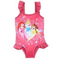 Disney Princess 18-24m In Baby Girls Pink Swimsuit BNWT Swimming Costume RRP £17