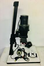 Omega B-600 Photo Enlarger w/Red Photographic Bulb, Negative Carrier