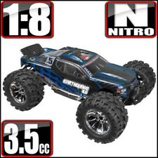 Redcat Racing Earthquake 3.5 1/8 Scale Nitro Monster Truck Blue