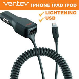 Ventev dashport r2340c Lightning 3.4A Car Charger iPhone XS /5/6/7/8 Plus/11 Pro