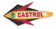 Cool Vintage 50's Style Castrol Oil Shirt Patch Badge 13cm Applique