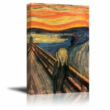 [Framed] The Scream - Edvard Munch Giclee Canvas Art Prints Wall Home Decoration