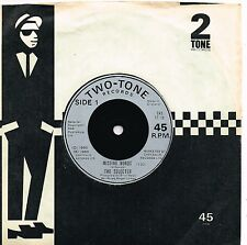 THE SELECTER missing words U.K. TWO-TONE 45rpm TT-10_1980 with 2 TONE sleeve