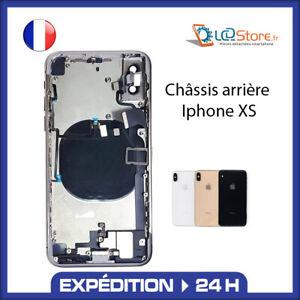 Châssis complet arrière Iphone XS Noir Or Blanc avec nappe
