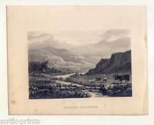 Grouse Shooting - Moorhuhn - Jagd - Stahlstich 1850