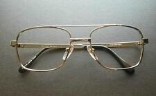 Exclusive Lenscrafters UNISEX Aviator Eyeglasses Rx Frames 53-19-140 Gold