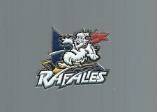 Defunct 1996-98 Quebec Rafales logo, IHL Hockey pin