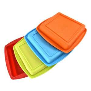 Square Brick Soap Toast Bread Baker Cake Baking Mold Loaf Tin Silicone Mold 2020