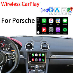 Wireless CarPlay Android Auto interface adapter USB BOX for Porsche PCM4.0/4.1