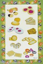 BEAUVILLE Dish TOWEL FRENCH Gourmet Pastries Cookies Macaroons PATISSERIE + GIFT