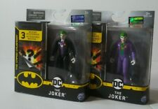 DC Batman The Joker with purple outfit and with Black Tuxedo set of 2