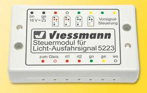 Viessmann 5223 Steuermodul für Licht-Ausfahrsignal
