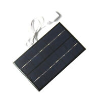 2W 5V USB Solar Panel Solar Charger Pane USB Port Mobile Phone Travel Portable Z