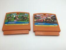 Vtech V smile Pocket Game Lot - Super Why & Disney Cars 2