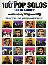 100 More Pop Solos for Clarinet Book Chords Arr Jack Long B40