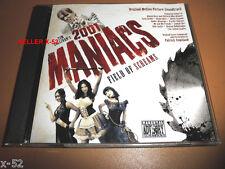 2001 MANIACS field of Screams CD soundtrack Patrick Copeland Zombie Girl Spider