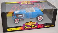 ERTL 1/18 American Muscle '32 Ford Highboy Nostalgia Street Rod BLUE 7851 1932