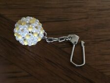 New, Hand Craft Bead Ball Key Chain, Proud Made in Taiwan, Only One Left