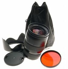 HASSELBLAD HC 1:3.5-4.5/50-110mm CAMERA ZOOM LENS RED FILTER HOOD CAPS CASE MINT