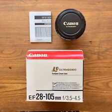 Canon Zoom EF 28-105mm f3.5-4.5 Ultrasonic Lens w/ Original Box
