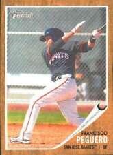2011 Topps Heritage Minor League #183 Francisco Peguero (Prospect / Rookie Card)