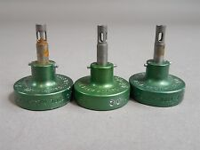Lot Of 3 Daniels Dmc Mh860 Crimp Tool Positioner 86 1s M225207 02