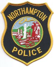 **NORTHAMPTON MASSACHUSETTS POLICE PATCH**