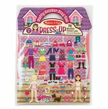 Melissa and Doug 12195 - Puffy Stickers Play Set - Dress Up - NEW!!