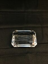 Haagen-Dazs Ice Cream Faceted Crystal Glass Promotional Paperweight