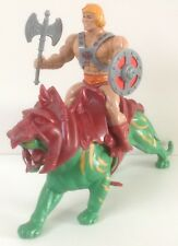 He-Man and Battle Cat Masters Of The Universe 1981 *** MOTU *** Heman