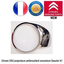 Citroën DS3 Enjoliveurs de projecteurs antibrouillard chromés Côté Gauche Neuf