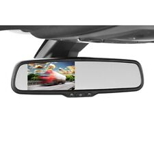 Car dimming rearview mirror with 10.9cm 4.3 inch rear view camera monitor